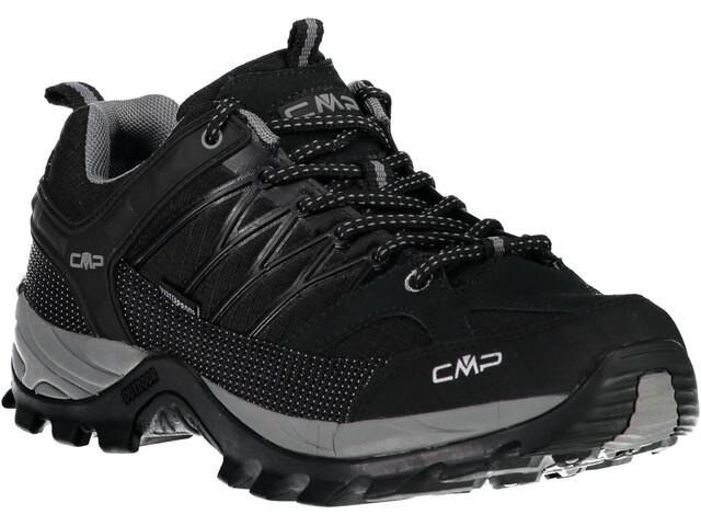 CMP Campagnolo Rigel Low WP Trekking Shoes Men Nero-Grey
